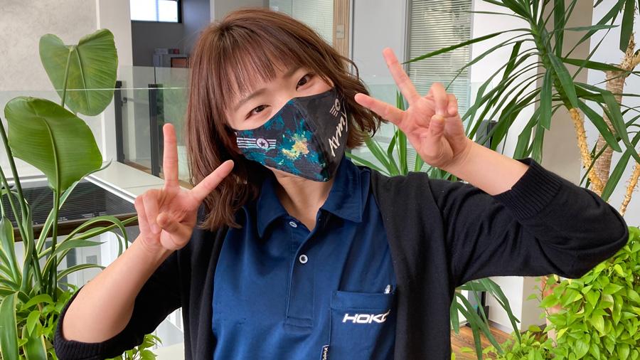 迷彩柄デザインマスク